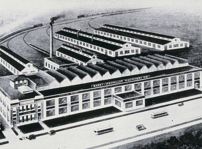 1913_West-Florisant-Building-drawing-by-railroads