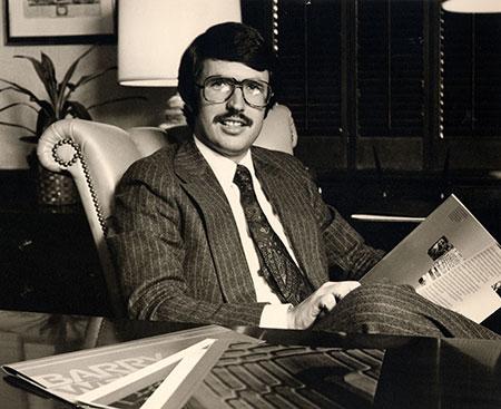 Bob Chapman in 1976